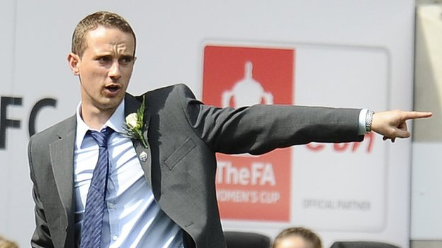 FA appoint Mark Sampson as England Women's Coach
