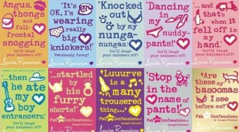 A tribute to the 'tres marvy' Louise Rennison