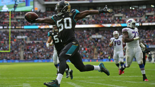 INTERNATIONAL SERIES GAME 15- Jacksonville Jaguars 30 Indianapolis Colts 27